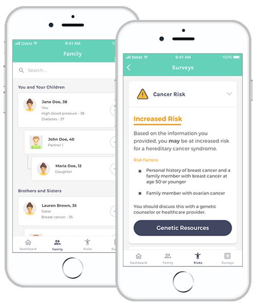 family health history app